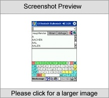 LingvoSoft Talking Dictionary German <-> Italian for Pocket PC Screenshot